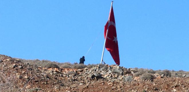 TSK ve ÖSO Arşali köyünü terör örgütü PYD/PKK'dan temizledi