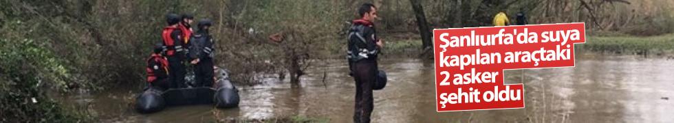 Sel sularına kapılan 2 askerin cenazelerine ulaşıldı...