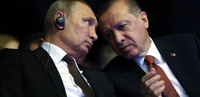 Erdoğan'dan Putin'e Afrin uyarısı