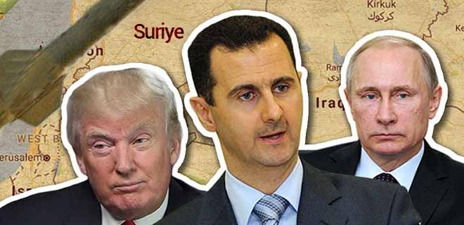 Suriye'de oyun büyük
