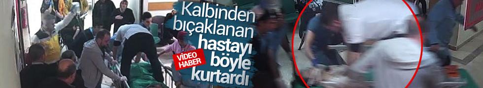 Bursa'da doktor kalbinden bıçaklanan adamı böyle hayata döndürdü