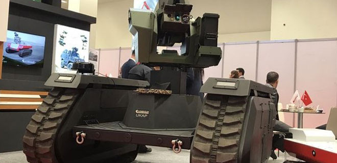 İşte insansız tanktan ilk görüntüler