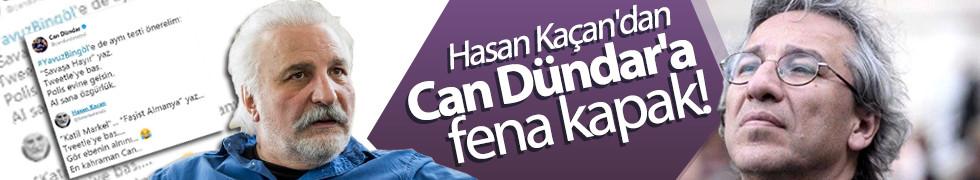 Hasan Kaçan'dan Can Dündar'a fena kapak!