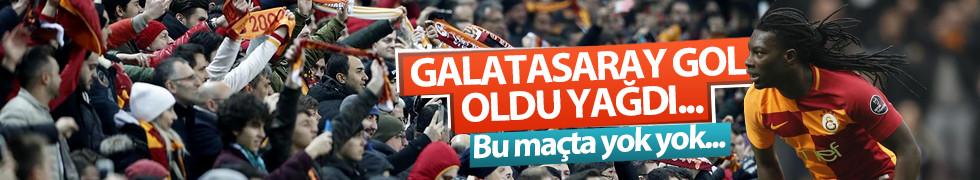 Bu maçta yok yok! Galatasaray gol oldu yağdı...