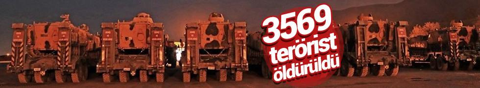 Cumhurbaşkanı Erdoğan: 3569 terörist etkisiz hale getirildi