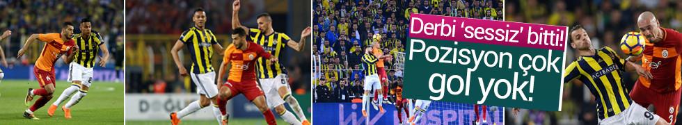 Fenerbahçe: 0 - Galatasaray: 0