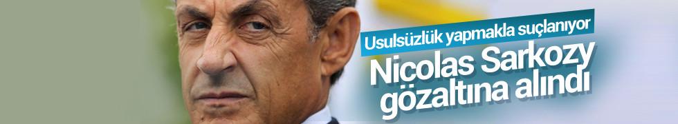 Usulsüzlükle suçlanan eski Fransa Cumhurbaşkanı Nicolas Sarkozy gözaltında!