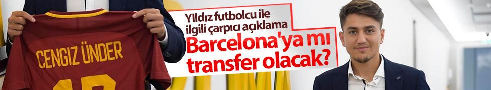 Cengiz Ünder Barcelona'ya mı transfer olacak?