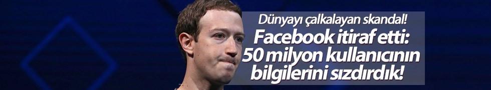 Facebook itiraf etti: 50 milyon kullanıcının bilgilerini sızdırdık