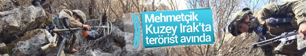Mehmetçik Kuzey Irak'ta terörist takibinde