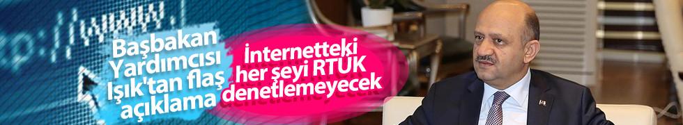 Başbakan Yardımcısı Işık'tan RTÜK yayın lisansına ilişkin açıklama
