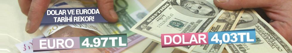 Dolar ilk kez 4 TL'yi gördü