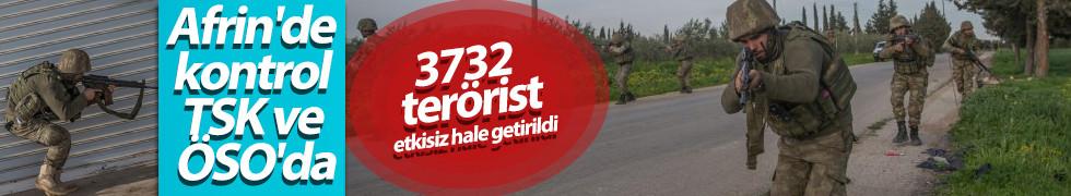 Erdoğan: 3732 terörist etkisiz hale getirildi