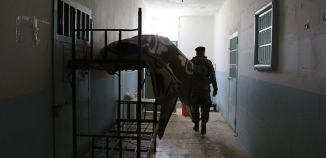 YPG'nin hapishanesi ilk defa görüntülendi