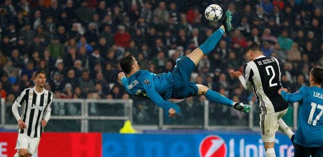 Ronaldo'dan muhteşem rövaşata golü ile ilgili görsel sonucu