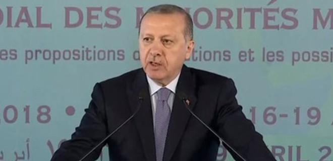 Cumhurbaşkanı Erdoğan, Müslüman Azınlıklar Zirvesi'nde Batı dünyasına tepki gösterdi