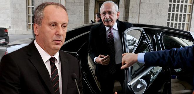 Kılıçdaroğlu ve İnce arabada ne konuştu?