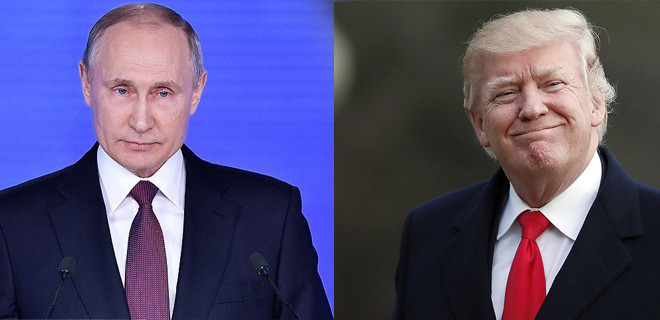 Putin'i Beyaz Saray'a davet etti