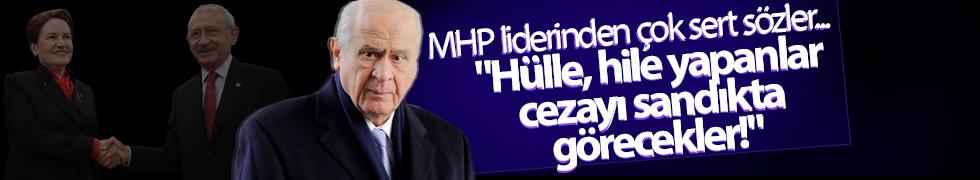 MHP lideri Bahçeli'den CHP'nin İYİ Parti kararına ilk yorum