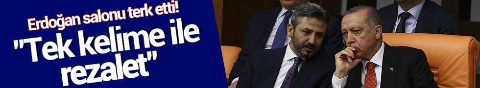 Cumhurbaşkanı Erdoğan'dan Genel Kurul tepkisi
