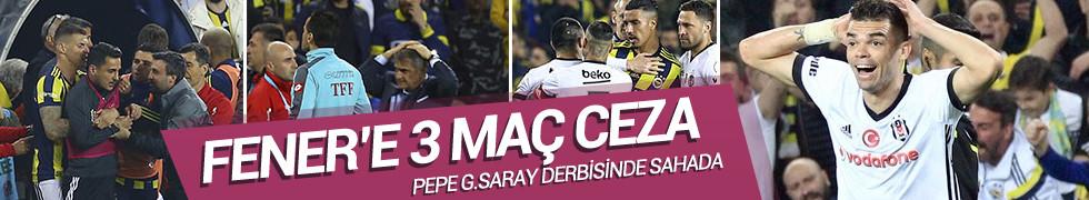 PFDK'dan Fenerbahçe'ye ağır ceza
