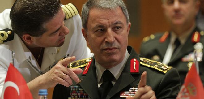 Genelkurmay Başkanı Hulusi Akar, Yunan mevkidaşıyla görüştü!