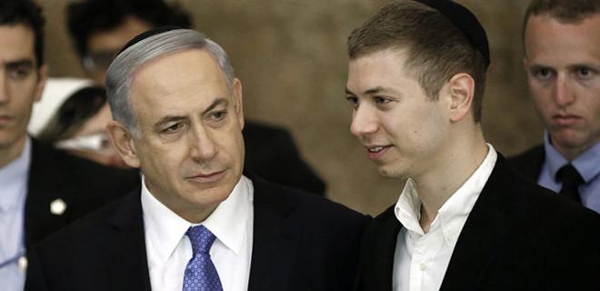 Netanyahu'nun oğlundan küstah paylaşım!