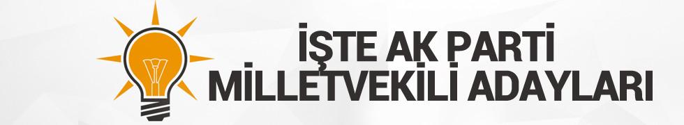 İşte AK Parti milletvekili adayları