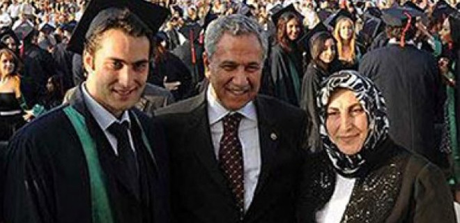 Arınç'ın oğlu AK Parti'den milletvekili adayı