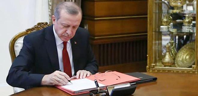 Erdoğan, 3 üniversiteye rektör atadı!