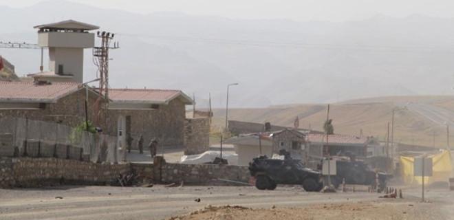 Jandarma karakoluna roketli saldırı...