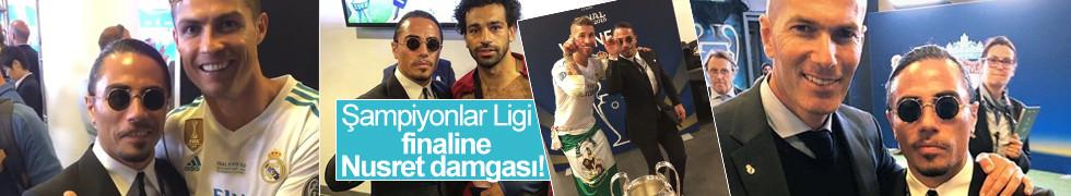 Şampiyonlar Ligi finaline Nusret damgası!