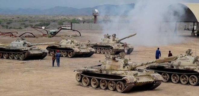 Arap güçlerinden, Husi güçlerine saldırı!