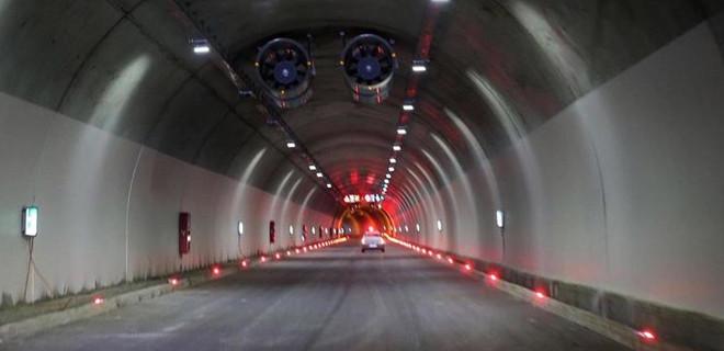 Türkiye'nin en uzun tüneli olan 'Ovit Tüneli' açıldı