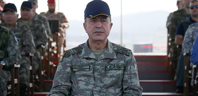 Orgeneral Akar'dan PKK/ FETÖ/DEAŞ açıklaması