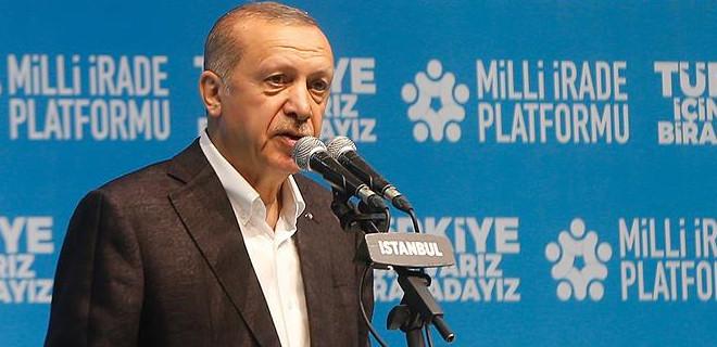 Erdoğan: Vekilimizin ağabeyini PKK'lılar öldürdü...
