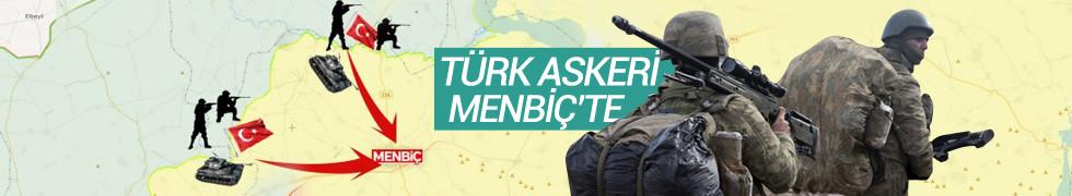 ABD ile anlaşma sonuç verdi! Türk askeri Menbiç'te!