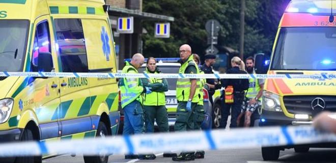 İsveç'te silahlı saldırı!