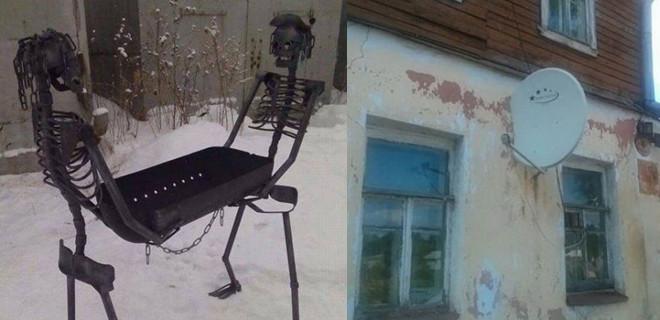 Sadece Rusya'da görebileceğiniz ilginç anlar!