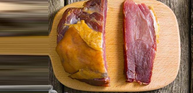 Etin üzerinde sarı renk varsa dikkat!