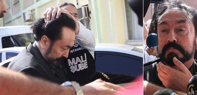 Polis Adnan Oktar'ın kafasına neden bastırdı?
