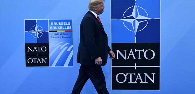 Trump'tan NATO tehdidi: Çekiliriz