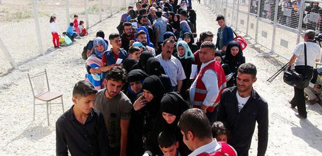 İçişleri Bakanlığı Türkiye'deki Suriyeli sığınmacıların sayısını açıklandı
