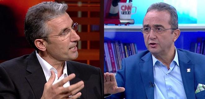 Nedim Şener ve Bülent Tezcan canlı yayında birbirine girdi