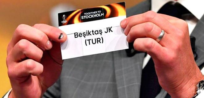 İşte Beşiktaş'ın Avrupa'daki rakibi...