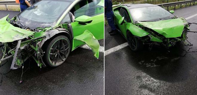 Milli futbolcu kaza geçirdi!