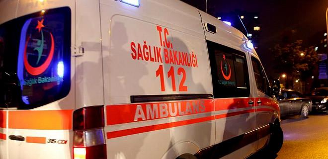 Başkent'te 112 ekibine saldırı