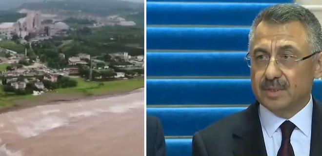 Cumhurbaşkanı Yardımcısı Fuat Oktay'dan Ordu'daki sel felaketine ilişkin açıklama!