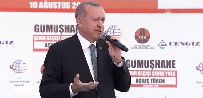 Başkan Erdoğan : Neymiş dövizmiş, neymiş kurmuş. Geçin o işi, geçin