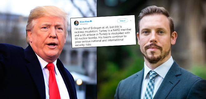 ABD'li siyaset bilimciden Trump'a çıkış: Tweetleri güvenlik riskleri oluşturuyor